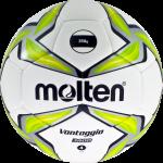 Molten F4V3400-G Fußball Trainingsball Hybrid weiß-grün-silber | 4