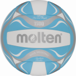 Molten BV1500-LB Beachvolleyball Freizeit-Trainingsball blau-weiß-silber | 5