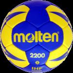 Molten H2X2200-BY Handball Trainingsball blau-gelb   2