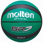 Molten BGR7-GK Basketball Trainingsball grün-schwarz | 7
