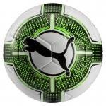Puma evoPower Lite 3 350g Fußball Trainingsball Puma White-Green Gecko-Puma Black | 5