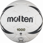 Molten H2X1000 Handball Trainingsball weiß-schwarz   2