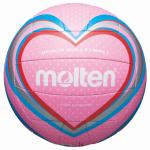 Molten V5B1501-P Beachvolleyball Freizeit-Trainingsball pink-blau-rot | 5