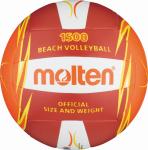 Molten V5B1500-RO Beachvolleyball Freizeit-Trainingsball rot-orange-weiß   5