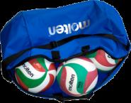 Molten -  EK0046-B Balltasche für 6 Volleybälle