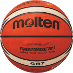 Molten BGR7-E7T Basketball Trainingsball orange-ivory | 7