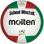 Molten V5SMC Volleyball SchoolMasteR weiß-grün-rot   5