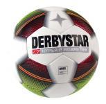 Derbystar Hyper Pro APS Fußball Spielball weiß-rot-schwarz-gelb | 5