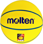 Molten SB4-DBB Basketball Trainingsball gelb-rot-blau | 4