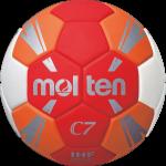 Molten H1C3500-RO Handball Spielball rot-orange-weiß-silber | 1