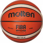 Molten BGF6X-X  Basketball Spielball orange-ivory | 6