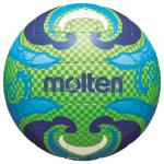 Molten V5B1502-L Beachvolleyball Freizeit-Trainingsball grün-blau, | 5