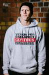 Clubkollektion - VfB Cottbus Fan Hoody Verein für Ballsport Kapuzensweater Kinder