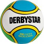 Derbystar Beach Soccer Fußball Freizeitball weiß-blau-grün | 5
