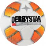 Derbystar Stratos Pro TT Fußball Trainingsball weiß-orange-gelb | 5