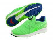 Puma Ignite Disc Laufschuhe Runningschuhe grün-blau-weiß