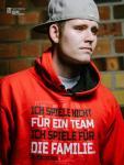VfB Cottbus Fan Hoody La Familia Kapuzensweater Kinder rot-schwarz | 116