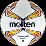 Molten F5V3600-R Fußball Trainingsball Hybrid weiß-rot-silber | 5