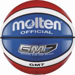 Molten BGMX7-C Basketball Trainingsball blau-rot-weiß   7