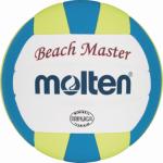 Molten V1B300-CY Beachvolleyball Beach Spielball weiß-blau-gelb | 135g, Ø150 mm