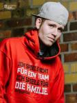Clubkollektion - VfB Cottbus Fan Hoody La Familia Kapuzensweater Erwachsene