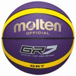 Molten BGR7-VY Basketball Trainingsball violett-gelb | 7