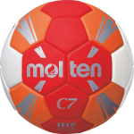 Molten H0C3500-RO Handball Spielball rot-orange-weiß-silber | 0