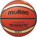Molten BGS1-E7T Basketball Mini Basketbällchen orange-ivory | 175g, Ø 137 mm