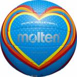 Molten V5B1501-B Beachvolleyball Freizeit-Trainingsball blau-rot-gelb | 5