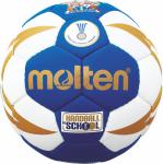 Molten H0X1300-BW Handball Methodikball blau-weiß-gold   0