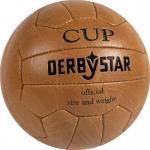 Derbystar Nostalgieball Cup Fußball Freizeitball braun | 5