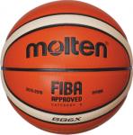 Molten BGG6X-X  Basketball Spielball orange-ivory | 6