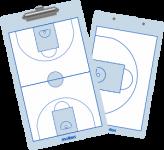 Molten -  SB0020 Basketball Taktikboard