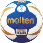 Molten H0X1300-BW Handball Methodikball blau-weiß-gold | 0