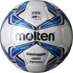 Molten F9V4800 Futsalball Fußball Futsal weiß-blau-silber | 4