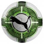 Puma evoPower Lite 3 290g Fußball Trainingsball Puma White-Green Gecko-Puma Black | 5