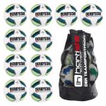 10x Derbystar Hyper Light Fußball 10er Ballpaket + Ballsack WEISS/BLAU/GELB/SCHWARZ | 5