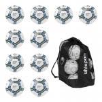 Uhlsport - 10x  Infinity Motion 2.0 Fußball 10er Ballpaket inkl. Ballsack