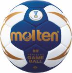 Molten H2X5000-BW-X (5001) Handball Spielball blau-weiß-gold | 2