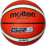 Molten BGR5-OI Basketball Trainingsball orange-ivory | 5