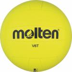Molten V6T Volleyball Trainingsball Anfänger Neongelb | 185g, Ø 245 mm