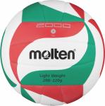 Molten V5M2000-L Volleyball Trainingsball weiß-grün-rot   5