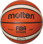 Molten BGG7X-X Basketball Spielball orange-ivory | 7