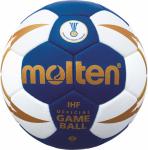 Molten H3X5000-BW-HBL (5001) Handball Spielball blau-weiß-gold | 3