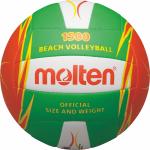 Molten V5B1500-LO Beachvolleyball Freizeit-Trainingsball grün-orange-weiß | 5