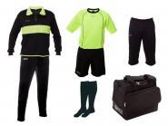 GECO Sportswear Set Neon Ausrüstungspaket Spielerset 7-teilig neongrün-schwarz | 116/128