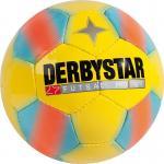 Derbystar Futsal Pro Light Futsalball gelb-blau | 4
