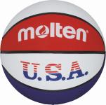 Molten BC6R-USA Basketball Trainingsball weiß-blau-rot | 6