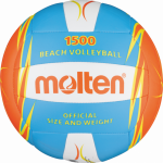 Molten V5B1500-CO Beachvolleyball Freizeit-Trainingsball blau-orange-weiß | 5