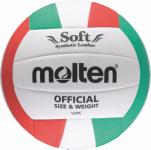 Molten V5PC Volleyball Trainingsball weiß-grün-rot   5
